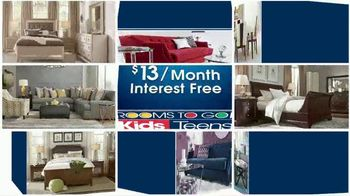 Rooms to Go Kids Anniversary Sale TV Spot, 'Bedroom Sets' - Thumbnail 2