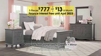 Rooms to Go Kids Anniversary Sale TV Spot, 'Bedroom Sets' - Thumbnail 4