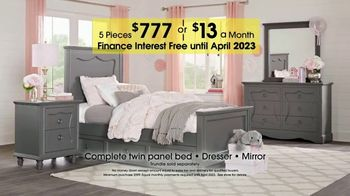 Rooms to Go Kids Anniversary Sale TV Spot, 'Bedroom Sets' - Thumbnail 6
