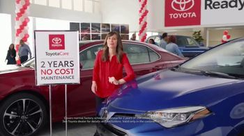 Toyota Ready Set Go! TV Spot, 'No-Cost Maintenance Plan' - 4 commercial airings