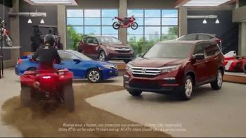 Honda Dream Garage Spring Event TV Spot, 'Get the Lights' [T2] - Thumbnail 5