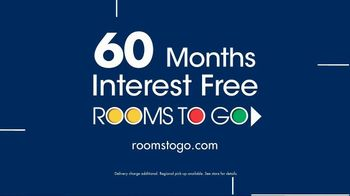 Rooms to Go Anniversary Sale TV Spot, '5-Piece Bedroom' - Thumbnail 7