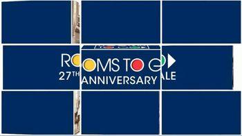 Rooms to Go Anniversary Sale TV Spot, '5-Piece Bedroom'