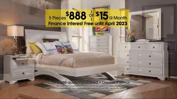 Rooms to Go Anniversary Sale TV Spot, '5-Piece Bedroom' - Thumbnail 6