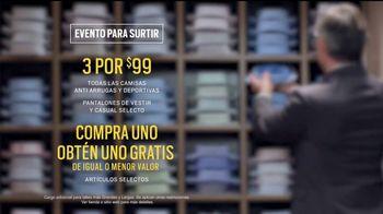 Men's Wearhouse Evento para Surtir TV Spot, 'Uno gratis' [Spanish] - Thumbnail 7