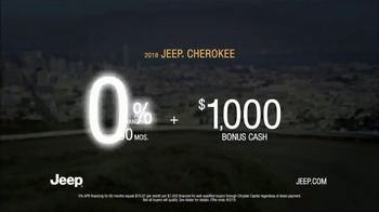 2018 Jeep Cherokee Limited TV Spot, 'What It Takes:Go Anywhere' [T2] - Thumbnail 8