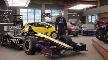 Honda Dream Garage Spring Event TV Spot, 'Big Deal' Ft. James Hinchcliffe [T1]