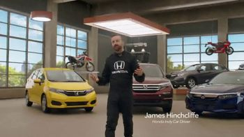 Honda Dream Garage Spring Event TV Spot, 'Big Deal' Ft. James Hinchcliffe [T1] - Thumbnail 4