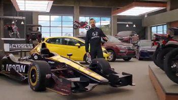 Honda Dream Garage Spring Event TV Spot, 'Big Deal' Ft. James Hinchcliffe [T1] - Thumbnail 8
