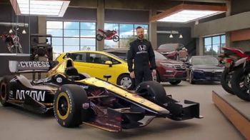 Honda Dream Garage Spring Event TV Spot, 'Big Deal' Ft. James Hinchcliffe [T1]