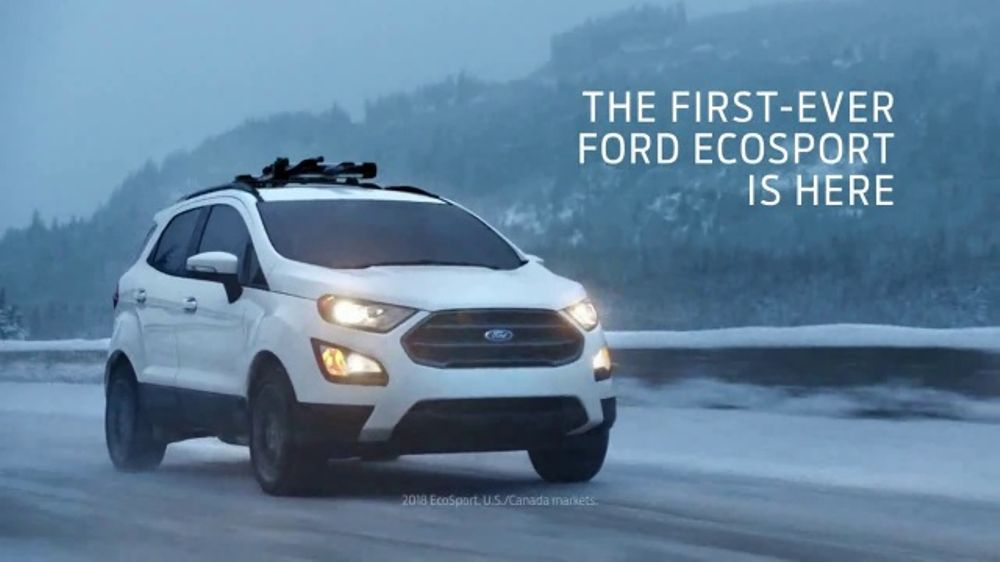 2018 Ford EcoSport TV Commercial, 'First-Ever Story: Night Ski' Song by UMI [T1] - iSpot.tv