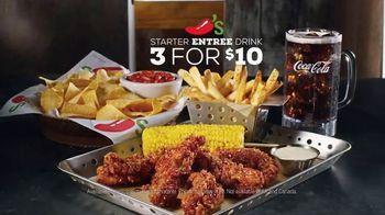Chili's Chicken Crispers TV Spot, 'Crispy and Saucy' - Thumbnail 7