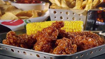 Chili's Chicken Crispers TV Spot, 'Crispy and Saucy'