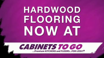 Cabinets To Go TV Spot, 'Hardwood Flooring' - Thumbnail 1