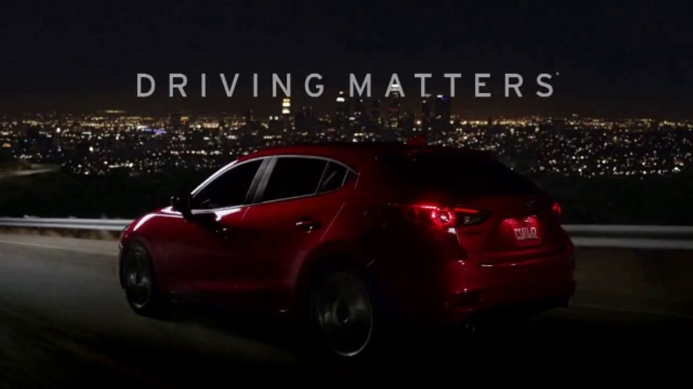 2018 mazda3 tv commercial 39 driving matters touch 39. Black Bedroom Furniture Sets. Home Design Ideas