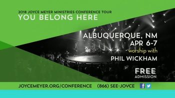2018 Joyce Meyer Ministries Conference Tour TV Spot, 'Grow With God' - Thumbnail 8