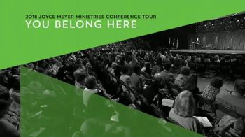 2018 Joyce Meyer Ministries Conference Tour TV Spot, 'Grow With God'