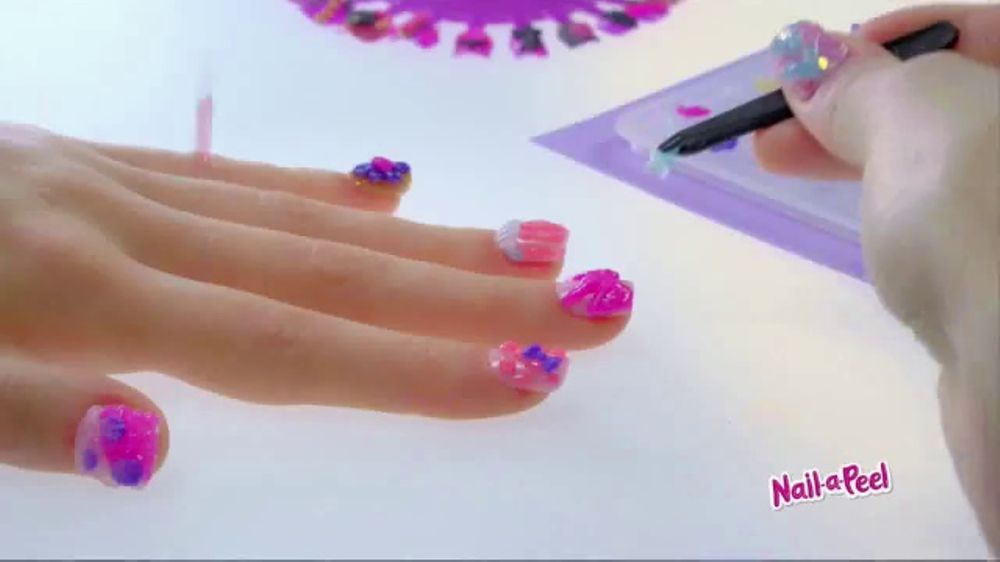 Nail A Peel Tv Commercial Design Your Own 3d Nail Art Ispot