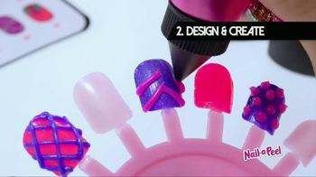 Nail-a-Peel TV Spot, 'Design Your Own 3D Nail Art' - Thumbnail 5