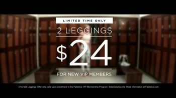 Fabletics.com Leggings TV Spot, 'Locker Room' - Thumbnail 10