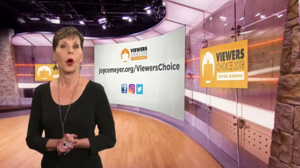 Joyce Meyer Ministries TV Commercial, '2018 Viewers Choice'