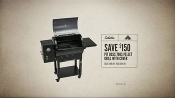 Cabela's Great Outdoor Days Door Buster SaleTV Spot, 'Reels & Pellet Grill' - Thumbnail 10