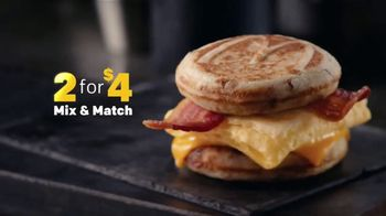 McDonald's 2 for $4 Breakfast Sandwiches TV Spot, 'Mix & Match' - Thumbnail 2
