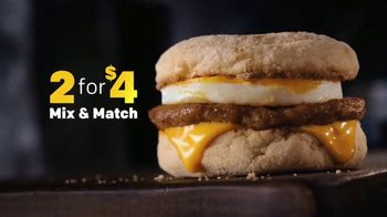 McDonald's 2 for $4 Breakfast Sandwiches TV Spot, 'Mix & Match' - Thumbnail 3