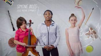 Mattress Firm Foster Kids TV Spot, 'School Programs' Feat. Simone Biles