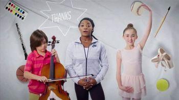 Mattress Firm Foster Kids TV Spot, 'School Programs' Feat. Simone Biles - Thumbnail 9