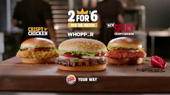 Burger King 2 for $6 TV Spot, 'El Spicy Crispy Chicken' [Spanish] - Thumbnail 9