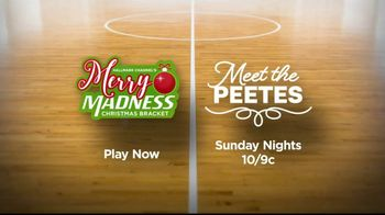 Hallmark Channel TV Spot, 'Merry Madness Christmas Bracket: Face Off' - Thumbnail 9