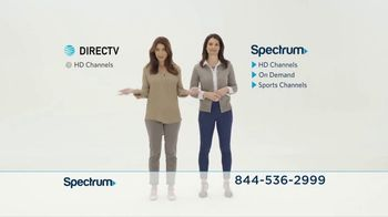 Spectrum TV Spot, 'Spectrum vs. DIRECTV'