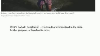 The New York Times TV Spot, 'Shining a Light on Women's Rights' - Thumbnail 6