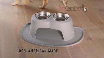 PetComfort Feeding System TV Spot, 'Where Are Your Pet Bowls Made?' - Thumbnail 3
