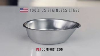 PetComfort Feeding System TV Spot, 'Where Are Your Pet Bowls Made?' - Thumbnail 4