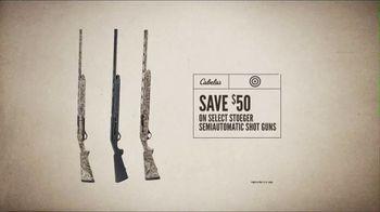 Cabela's Great Outdoor Days Sale TV Spot, 'Semiautomatic Shot Guns' - Thumbnail 7