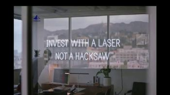 Invesco PowerShares TV Spot, 'Invest With a Laser, Not a Hacksaw'