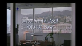 Invesco PowerShares TV Spot, 'Invest With a Laser, Not a Hacksaw' - Thumbnail 4