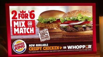 Burger King 2 for $6 TV Spot, 'Paramount Network: Bellator MMA: Training' - Thumbnail 6