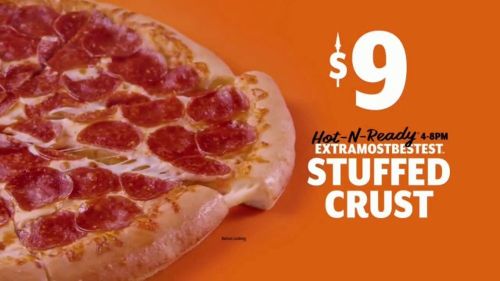 Little Caesars EXTRAMOSTBESTEST Pizza TV Commercial We Beat Our Own Record