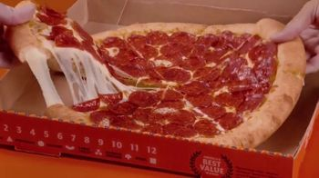 Little Caesars EXTRAMOSTBESTEST Pizza TV Spot, 'We Beat Our Own Record' - Thumbnail 2