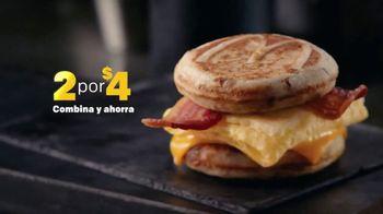 McDonald's 2 for $4 Breakfast Sandwiches TV Spot, 'Combínalo' [Spanish] - Thumbnail 4