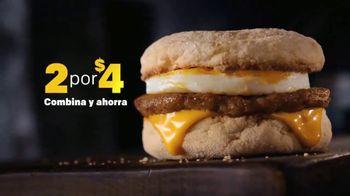 McDonald's 2 for $4 Breakfast Sandwiches TV Spot, 'Combínalo' [Spanish] - Thumbnail 6