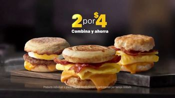McDonald's 2 for $4 Breakfast Sandwiches TV Spot, 'Combínalo' [Spanish] - Thumbnail 8