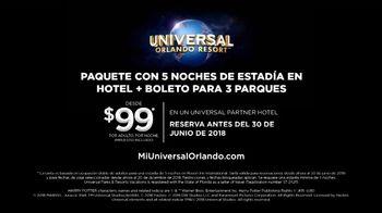 Universal Orlando Resort TV Spot, 'Vacaciones a otro nivel: paquete de cinco noches desde $99 dólares' [Spanish] - Thumbnail 9