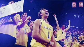 Michigan Athletics TV Spot, 'Get in on the Action' - Thumbnail 9