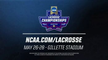 NCAA TV Spot,' 2018 Men's Lacrosse Championships: Gillette Stadium' - Thumbnail 7