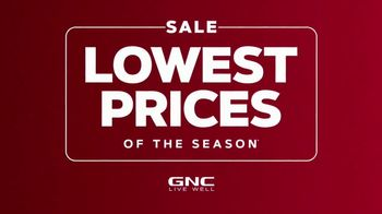 GNC Lowest Prices of the Season Sale TV Spot, 'Your Favorite Items' - Thumbnail 1