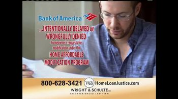 Wright & Schulte, LLC TV Spot, 'Bank of America Home Loans'